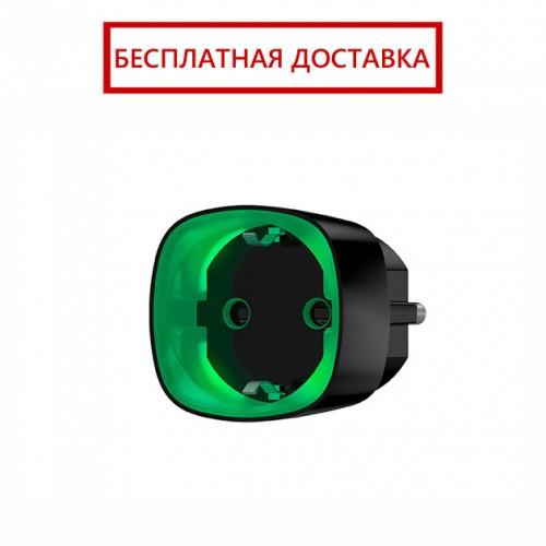 Ajax Socket – Радиоуправляемая розетка со счетчиком энергопотребления – черная