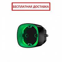 Ajax Socket – Радиоуправляемая розетка со счетчиком энергопотребления – черная, фото 1