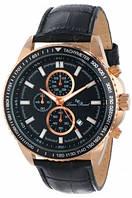 Мужские наручные часы Lucien Piccard Men's Cartagena Analog Display Japanese Quartz Black Watch