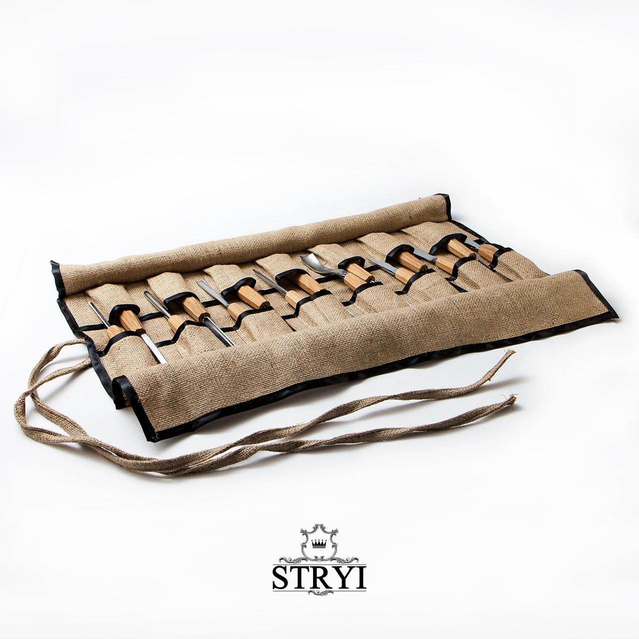 Чехол на 15 стамесок, от производителя STRYI