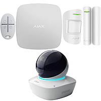 Комплект беспроводной сигнализации Ajax StarterKit (black/white) + IP камера Dahua Technology DH-IPC-A35P