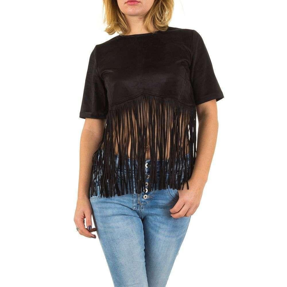 Женская блуза от Angel Paris - черный - KL-AP2243-black
