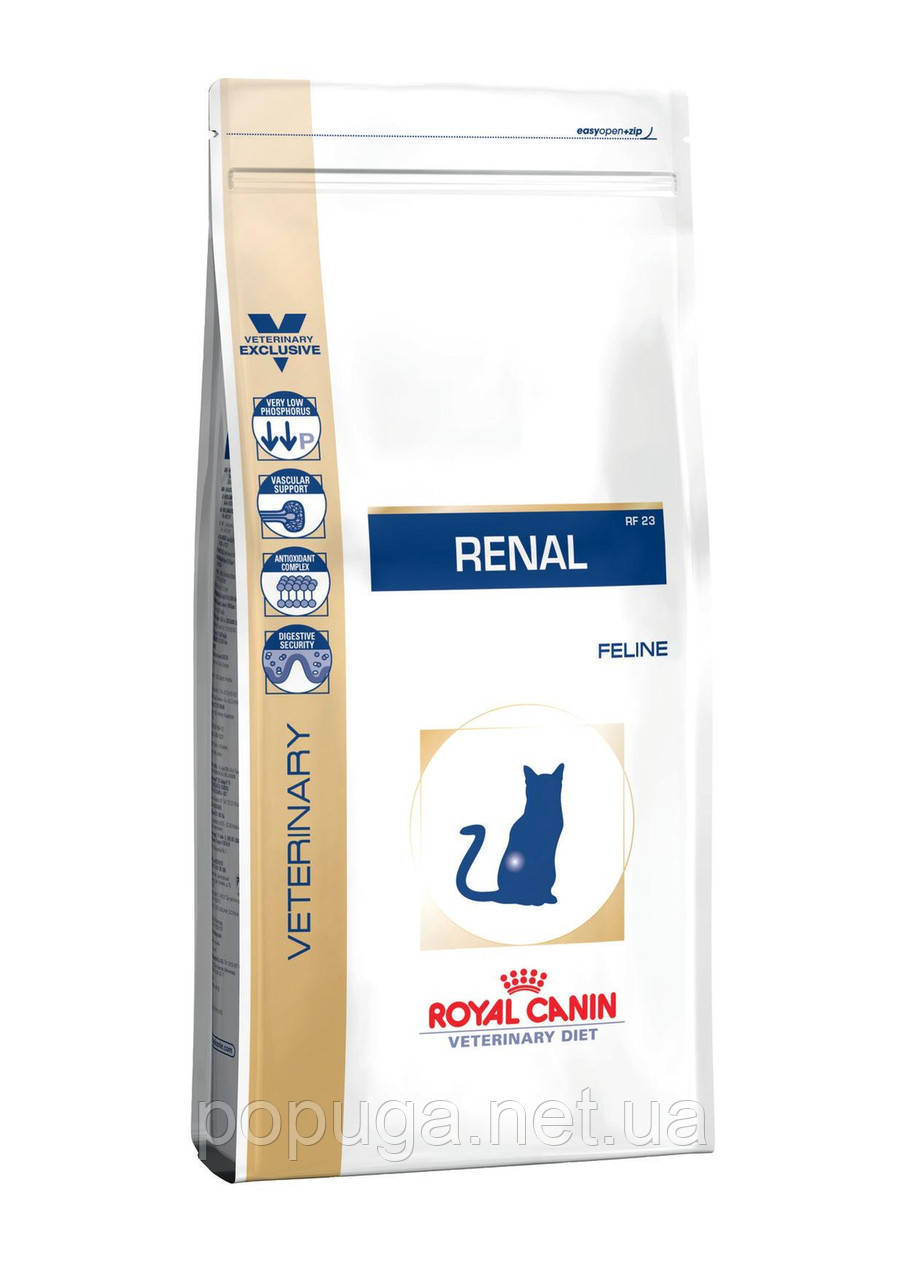 Royal Canin RENAL корм для кошек с хронической почечной недостаточностью, 2 кг