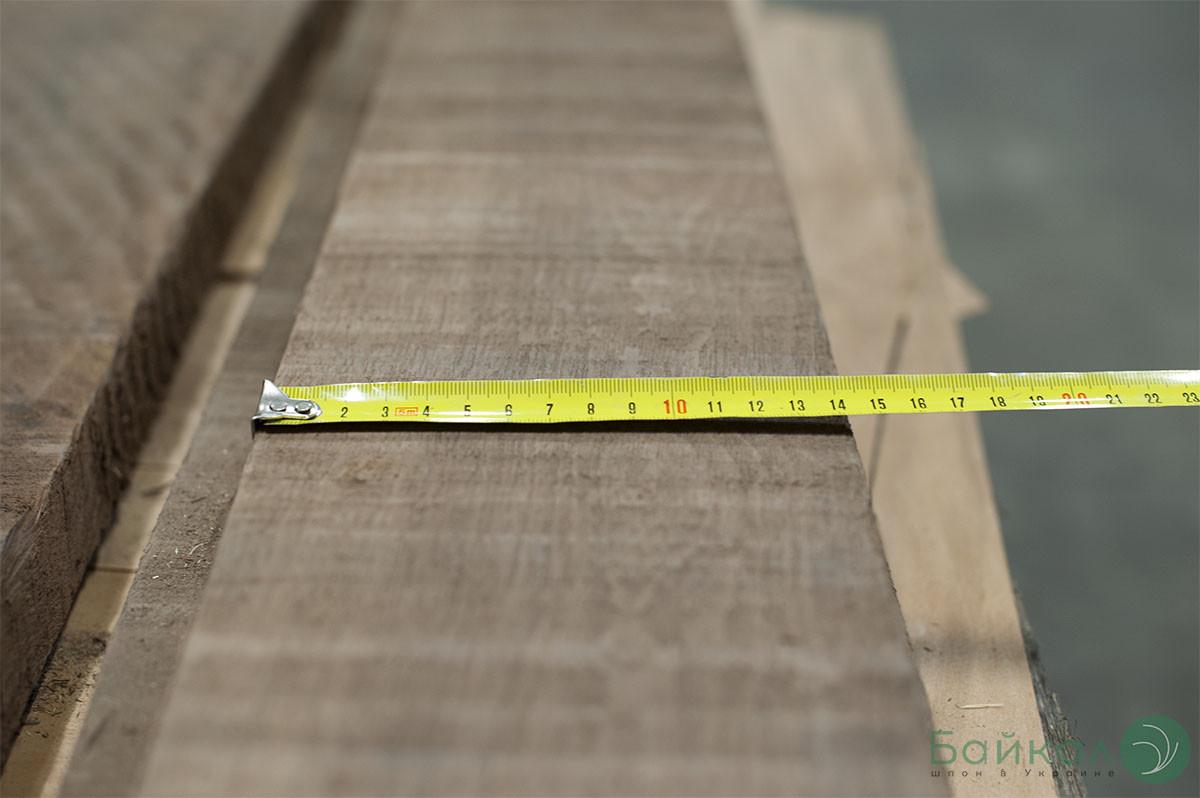 Доска сухая обрезная Американский Орех 32 мм (2 сорт) от 2,15 м+/от 12 см+