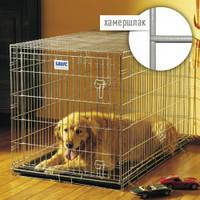 Savic (Савик) ДОГ РЕЗИДЕНС (Dog Residence) клетка для собак, цинк, цвет-хамершлак,91Х61Х71