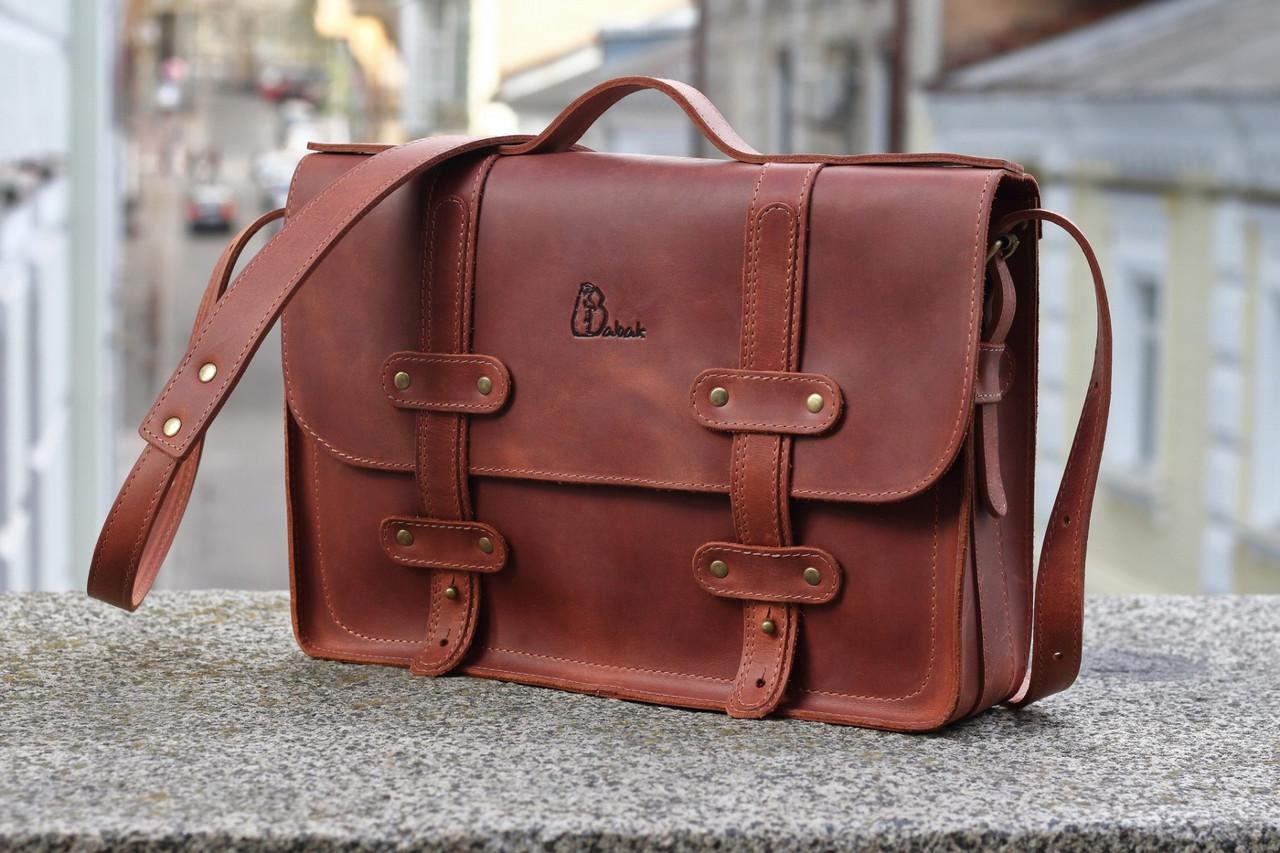 Портфель Babak Folio Cognac 863065