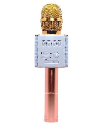 Беспроводной караоке Bluetooth микрофон с колонкой Q9, фото 2