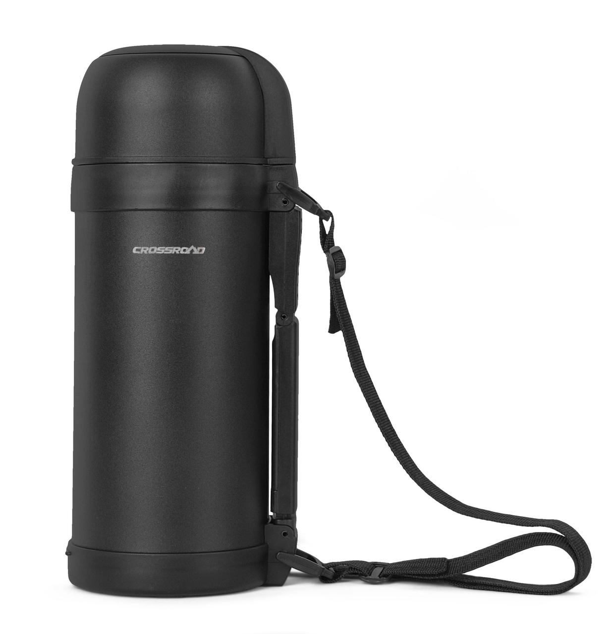 Термос Crossroad THERMOS 1.5L black (Чехія)