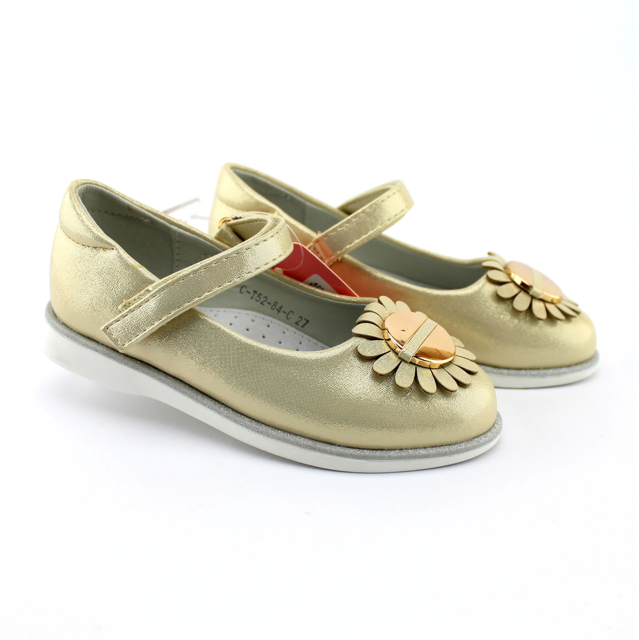 Нарядные детские туфли Золото тм Том.м размер 25,31,32