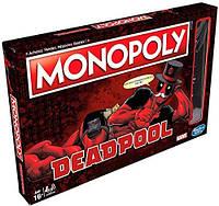 Настольная игра Монополия Hasbro Deadpool Дэдпул Monopoly DР M