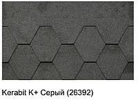 Битумная черепица KERABIT K+ серый