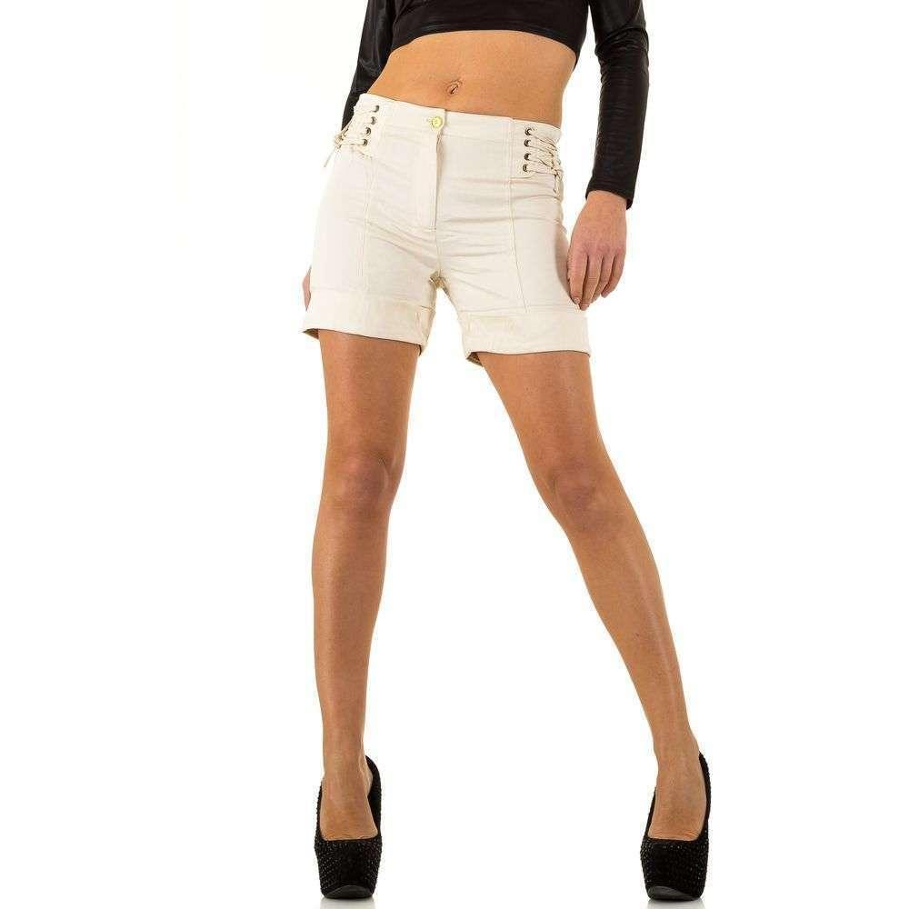 Женские шорты от Usco - cream - KL-12869-cream