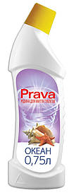 Жидкость для чистки туалетов Prava океан 0.75 л (96-231)