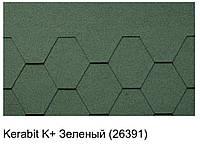 Битумная черепица KERABIT K+ зеленый