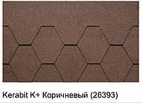 Битумная черепица KERABIT K+ коричневый