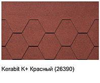 Битумная черепица KERABIT K+ красный