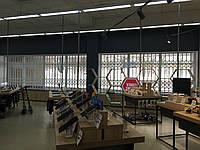 Раздвижные решетки в больших объемах