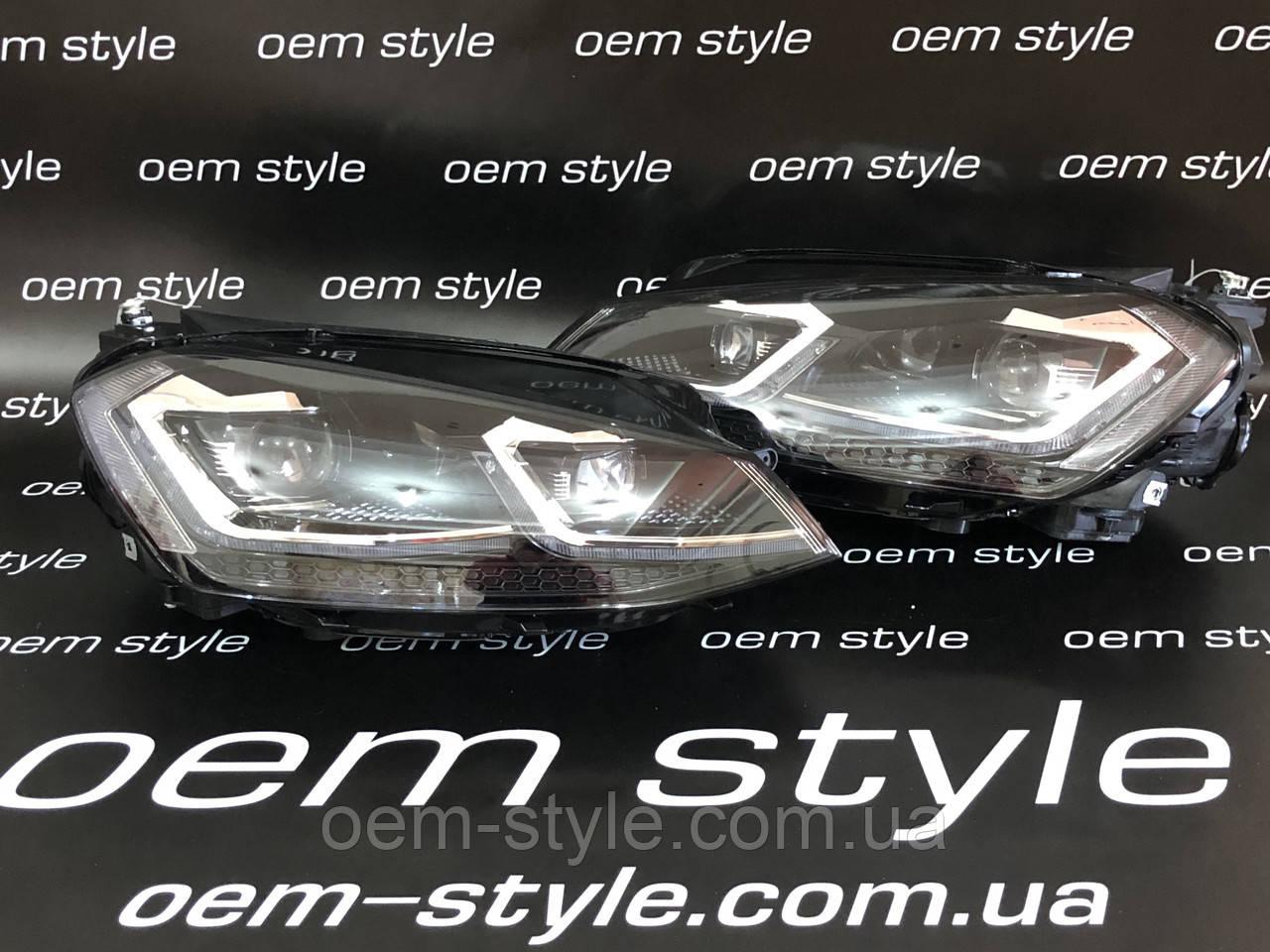 Передняя оптика Volkswagen Golf 7.5 R-Line 2018-2020