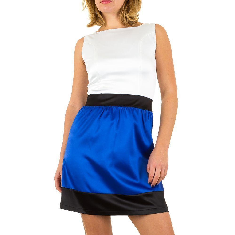 Женское платье от Usco, размер 38 - White Blue - KL-IND033-синий белый 38