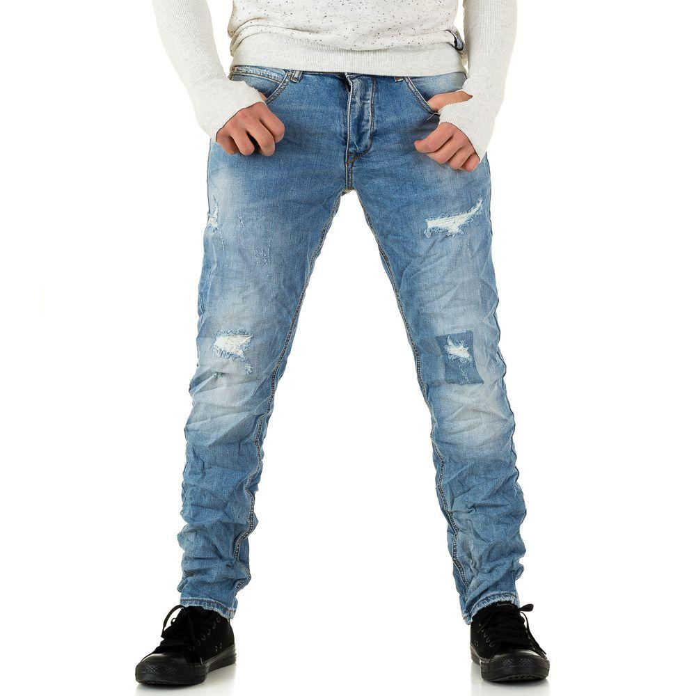 Мужские джинсы Y. Two Jeans, размер 28 - blue - KL-H-Y1597-синий 28