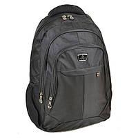 Городской рюкзак нейлон Power In Hand черный 20 - 30 л, фото 1