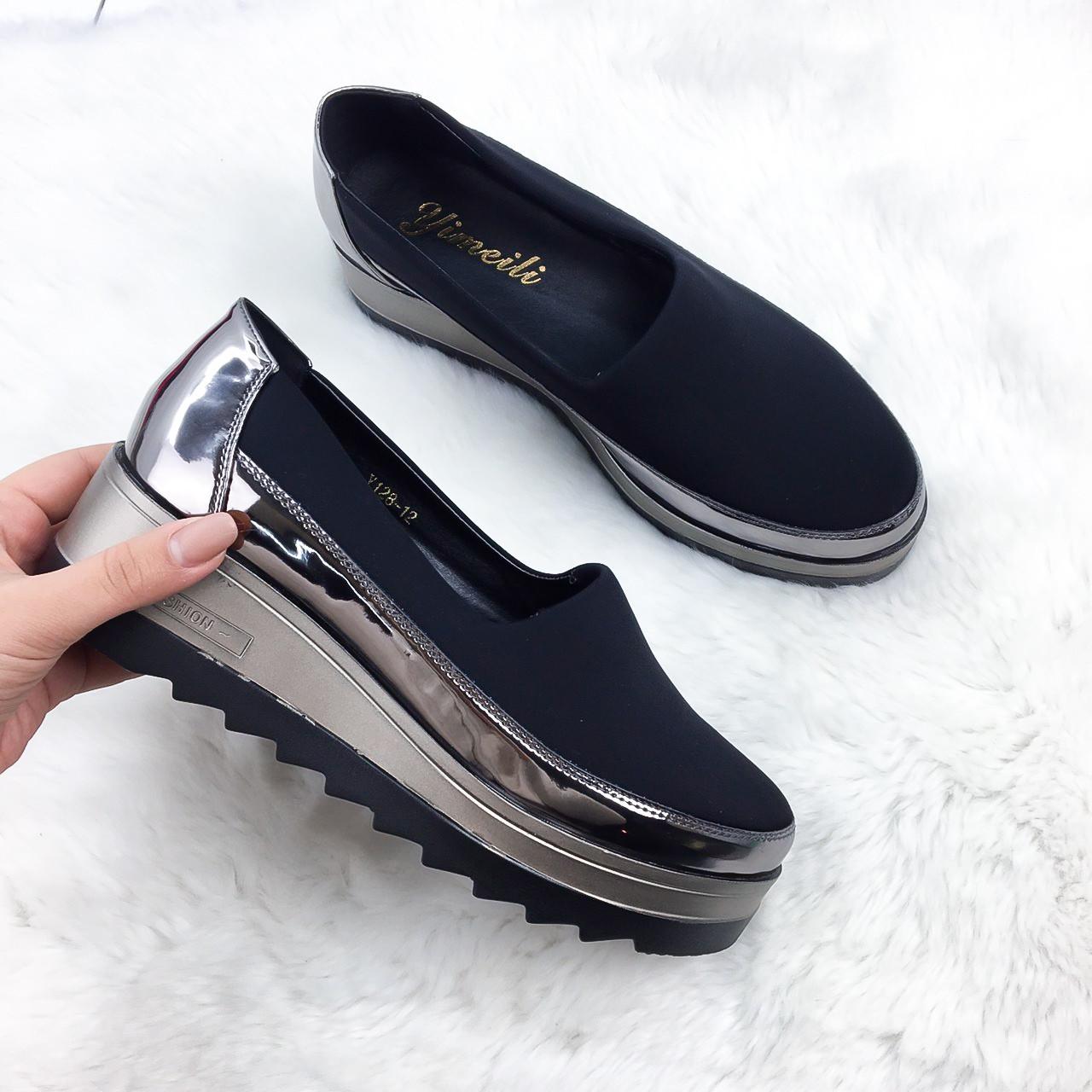 88db6081f54b Туфли , цвет: ЧЕРНЫЙ - Интернет-магазин обуви TINA LUX в Днепропетровской  области