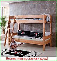 Кровать двухъярусная трансформер b09 80х190 см ТМ Mobler