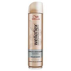 Лак для волос WellaFlex Блеск и фиксация супер-сильной фиксации 250мл 01085