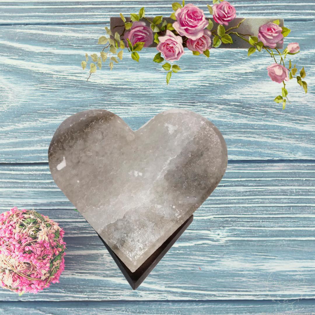 Соляная лампа «Сердце » (4-5 кг)