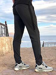 Тонкие Мужские спортивные штаны серого цвета от производителя AV Sportswear