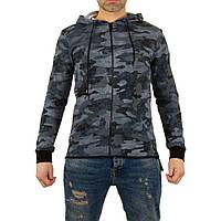 Мужская спортивная куртка от Uniplay, размер L - grey - KL-H-UPY104-серый L