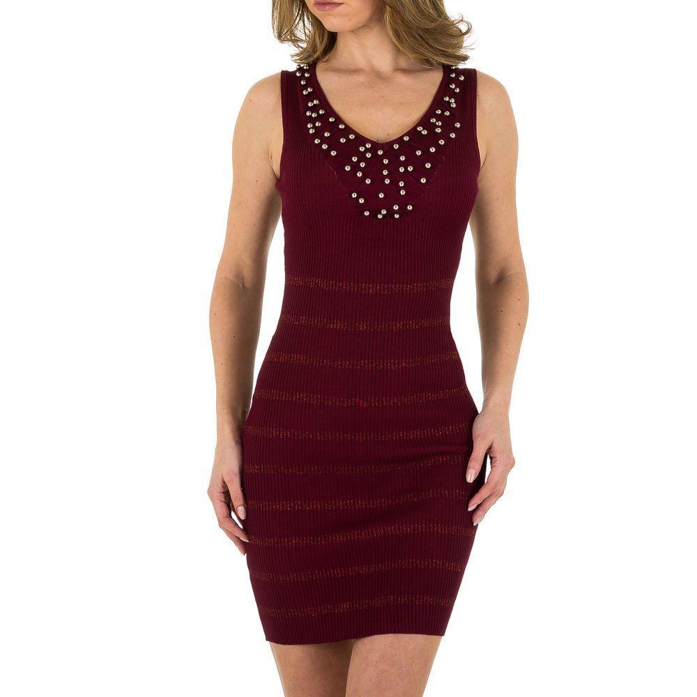 Женское платье от Voyelles, размер L/40 - wine - KL-P204-wine M/L