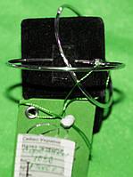 Небувалі срібні сережки -кільця
