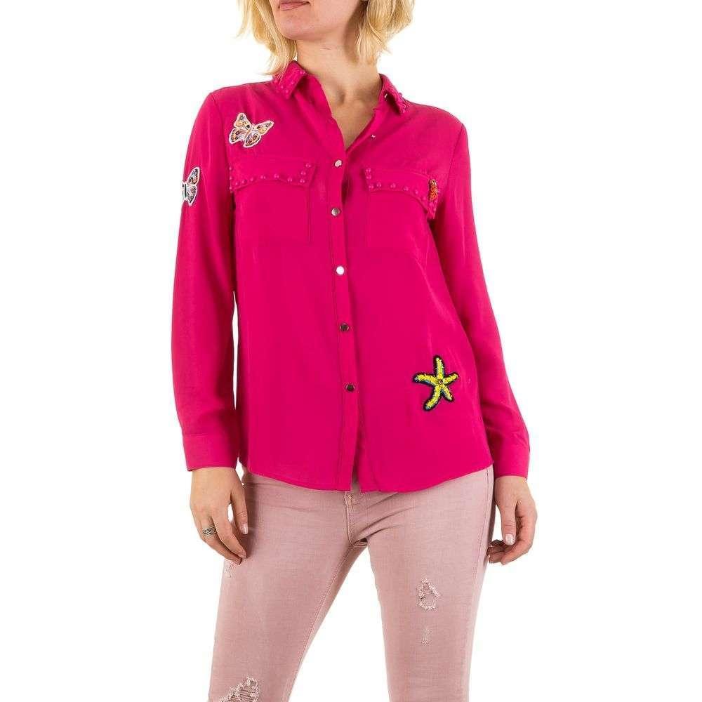 Женская блузка - розовый - KL-L484-розовый