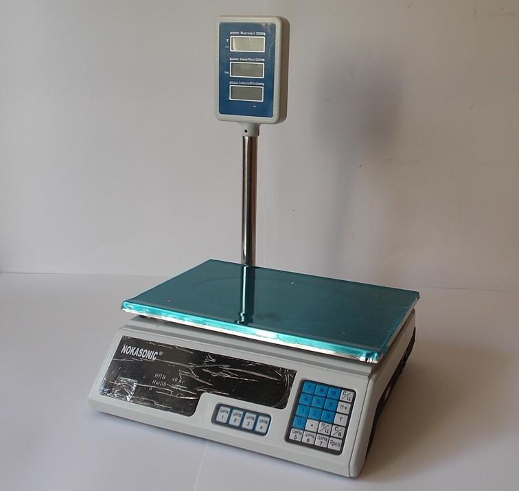 Весы торговые электронные 40 кг. с гусаком., фото 1