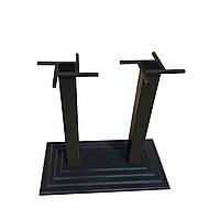 Опора для стола Ле Ман Дабл 72,5 чугун черный, Аурит