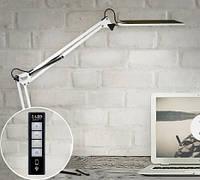 Настольная светодиодная лампа c регулировкой яркости 10 Вт