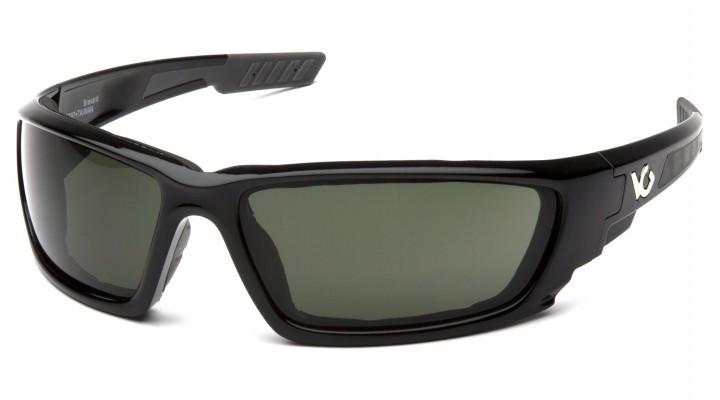 Спортивные очки Venture Gear BREVARD BLACK Forest Gray