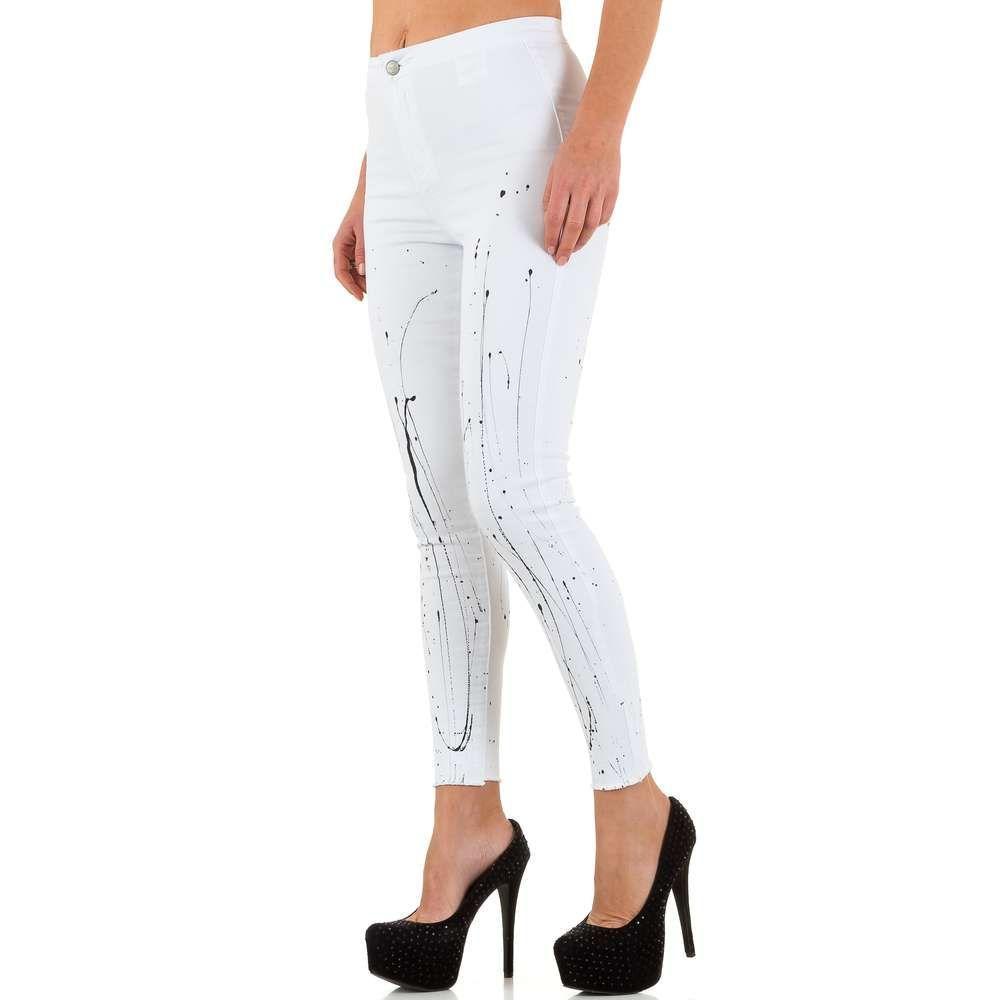 Женские джинсы Blue Rags - Блан - KL-J-22618-55B-Блан