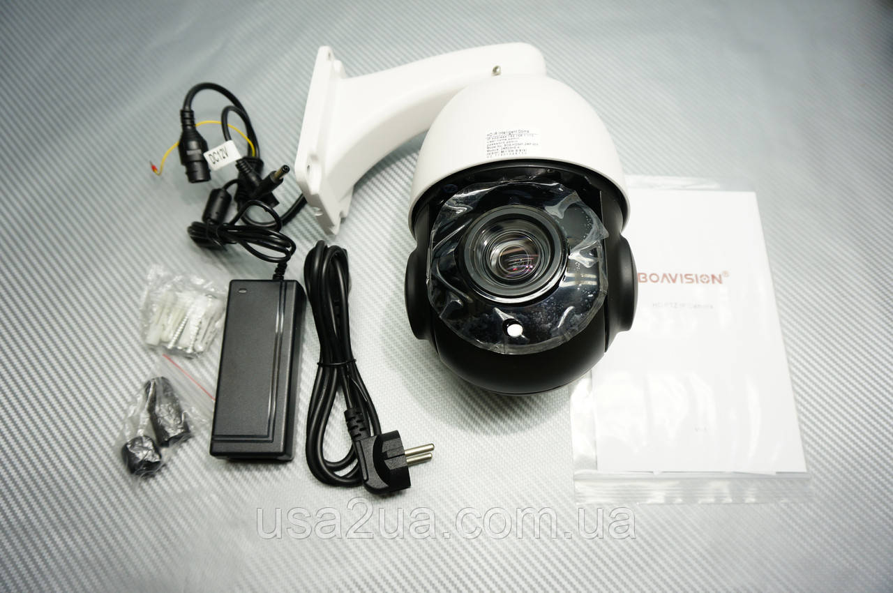 Беспроводная купольная Поворотная IP Камера Boavision Onvif 30X 360° 1080 P PTZ IP 2mp ИК 50м гарантия