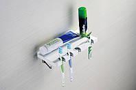 Полка с держателем для зубных счеток Yacore Fab (ABS белый)