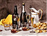 Картина по номерам Вино с фруктами (40 х 50 см, без коробки)