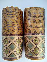 Бумажные формы для выпечки  70*65 Вышиванка