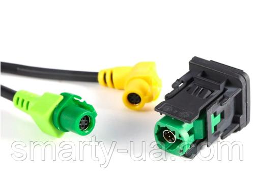 USB переключатель AUX кабель жгут RCD510 RNS315 для VW для гольфа MK6 для Jetta MK5 для Sagitar для поло