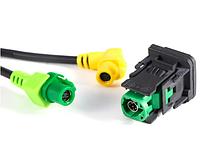 USB переключатель AUX кабель жгут RCD510 RNS315 для VW для гольфа MK6 для Jetta MK5 для Sagitar для поло, фото 1