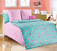 Арбузики, подростковое постельное белье (бязь, 100% хлопок)