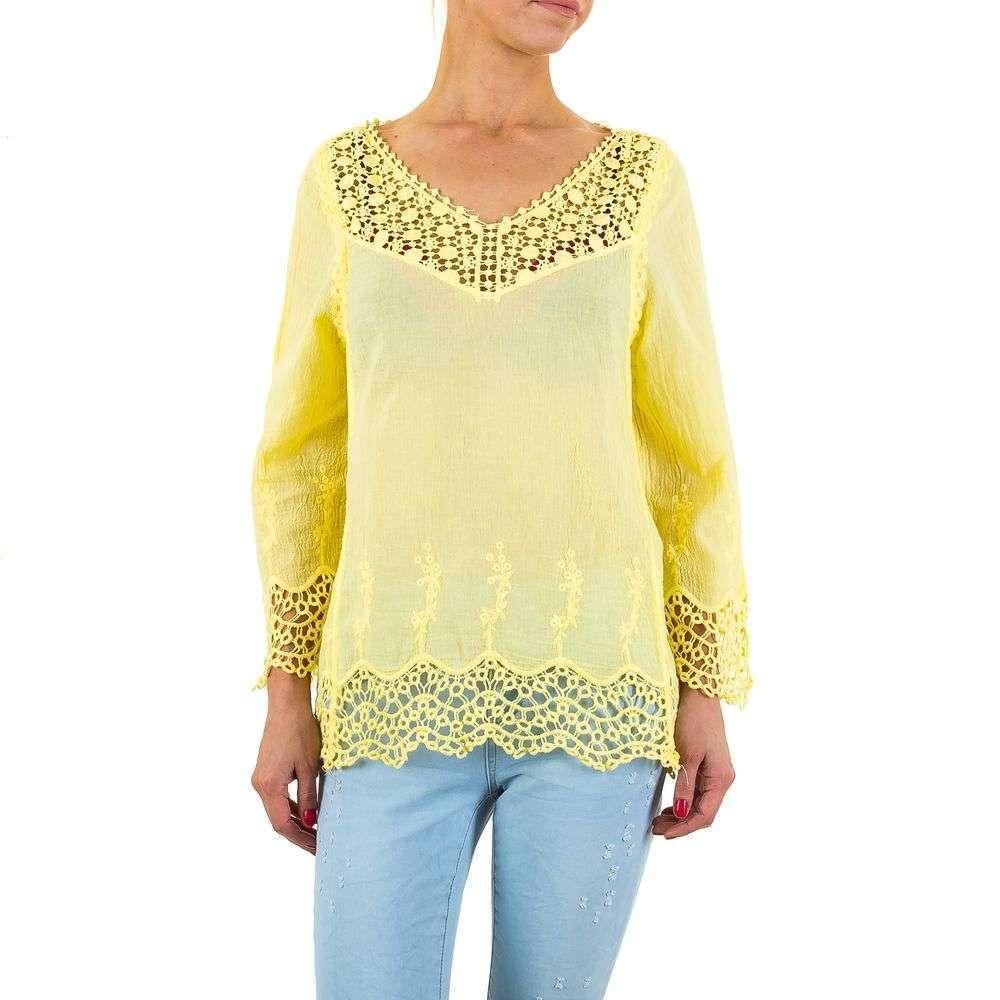 Женские блузки от So Sweet, KL-CH100-yellow