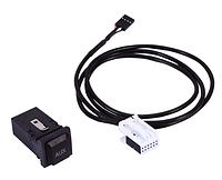 Переключатель разъем AUX кабель для VW для гольф для GTI для Jetta MK6 для Sagitar для Scirocco RCD510 RCD310, фото 1