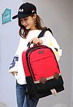 Рюкзак Chuangyipai красный, фото 2