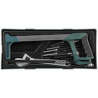 Набор инструмента ножовка, разводной ключ, зубила и выколотки,14 предметов (ложемент), M645114SP